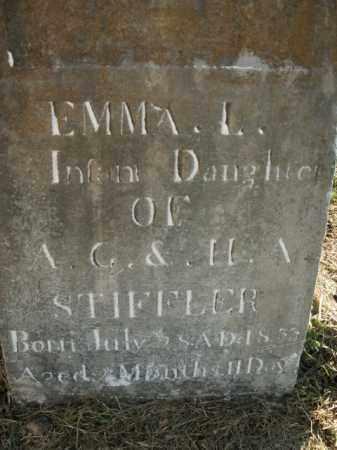 STIFFLER, EMMA L. - Boone County, Arkansas | EMMA L. STIFFLER - Arkansas Gravestone Photos