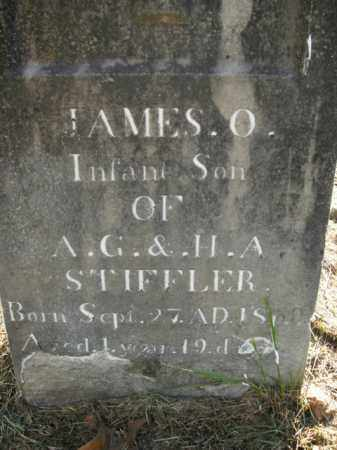 STIFFLER, JAMES O. - Boone County, Arkansas | JAMES O. STIFFLER - Arkansas Gravestone Photos