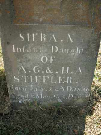 STIFFLER, SIERA N. - Boone County, Arkansas | SIERA N. STIFFLER - Arkansas Gravestone Photos