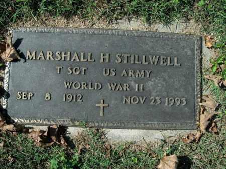 STILLWELL  (VETERAN WWII), MARSHALL H - Boone County, Arkansas | MARSHALL H STILLWELL  (VETERAN WWII) - Arkansas Gravestone Photos