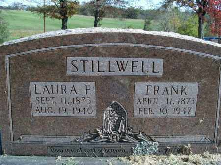 STILLWELL, LAURA F. - Boone County, Arkansas | LAURA F. STILLWELL - Arkansas Gravestone Photos