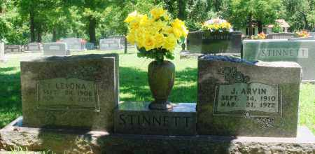 STINNETT, I. LEVONA - Boone County, Arkansas | I. LEVONA STINNETT - Arkansas Gravestone Photos