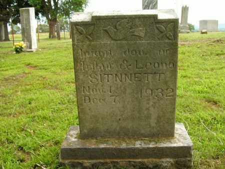 STINNETT, INFANT DAUGHTER - Boone County, Arkansas | INFANT DAUGHTER STINNETT - Arkansas Gravestone Photos