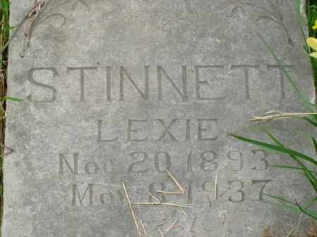 STINNETT, LEXIE - Boone County, Arkansas | LEXIE STINNETT - Arkansas Gravestone Photos