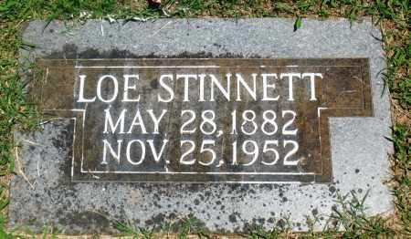 STINNETT, LOE - Boone County, Arkansas | LOE STINNETT - Arkansas Gravestone Photos