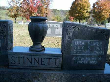 STINNETT, ORA ELMER - Boone County, Arkansas | ORA ELMER STINNETT - Arkansas Gravestone Photos