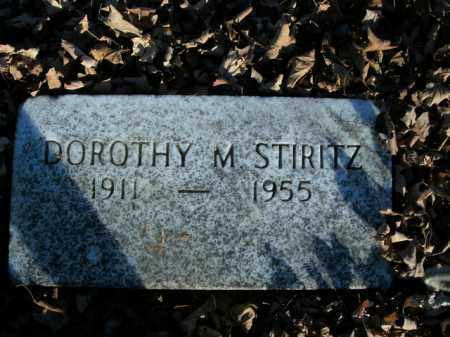 STIRITZ, DOROTHY M. - Boone County, Arkansas | DOROTHY M. STIRITZ - Arkansas Gravestone Photos