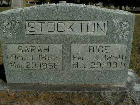 STOCKTON, ABIJAH S. - Boone County, Arkansas | ABIJAH S. STOCKTON - Arkansas Gravestone Photos