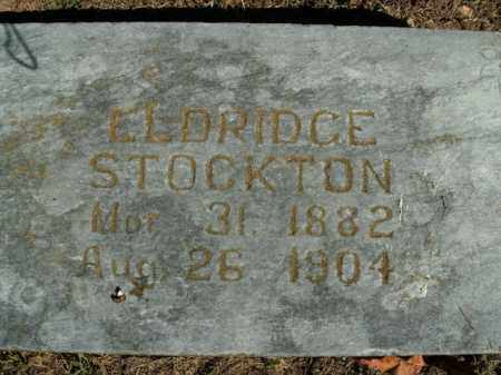 STOCKTON, ELDRIDGE - Boone County, Arkansas | ELDRIDGE STOCKTON - Arkansas Gravestone Photos