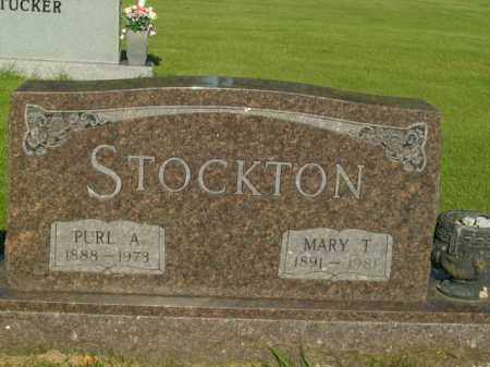 STOCKTON, PURL A. - Boone County, Arkansas | PURL A. STOCKTON - Arkansas Gravestone Photos