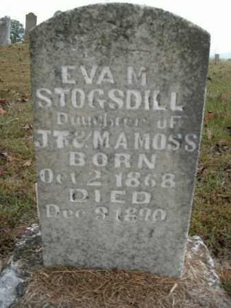 STOGSDILL, EVA M. - Boone County, Arkansas | EVA M. STOGSDILL - Arkansas Gravestone Photos