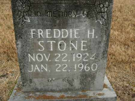 STONE, FREDDIE H. - Boone County, Arkansas | FREDDIE H. STONE - Arkansas Gravestone Photos
