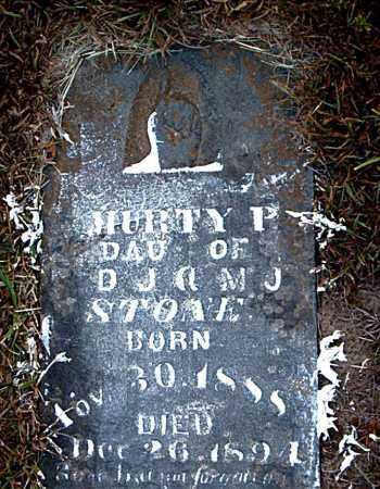 STONE, MURTY  P. - Boone County, Arkansas | MURTY  P. STONE - Arkansas Gravestone Photos
