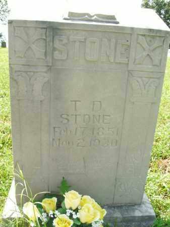 STONE, T.D. - Boone County, Arkansas | T.D. STONE - Arkansas Gravestone Photos