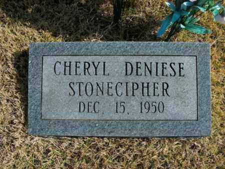 STONECIPHER, CHERYL DENIESE - Boone County, Arkansas | CHERYL DENIESE STONECIPHER - Arkansas Gravestone Photos