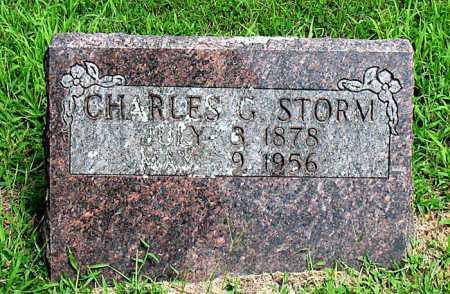 STORM, CHARLES G - Boone County, Arkansas | CHARLES G STORM - Arkansas Gravestone Photos