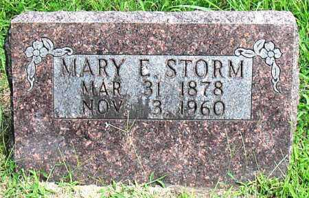 STORM, MARY E - Boone County, Arkansas | MARY E STORM - Arkansas Gravestone Photos