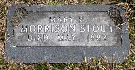 STOUT, MARY  M. - Boone County, Arkansas | MARY  M. STOUT - Arkansas Gravestone Photos