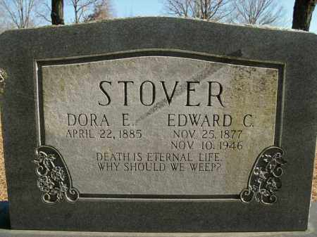 STOVER, EDWARD C. - Boone County, Arkansas | EDWARD C. STOVER - Arkansas Gravestone Photos