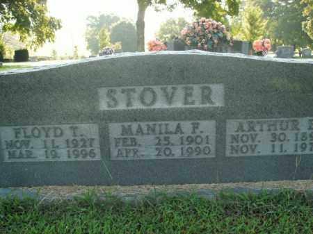 STOVER, MANILA F. - Boone County, Arkansas | MANILA F. STOVER - Arkansas Gravestone Photos