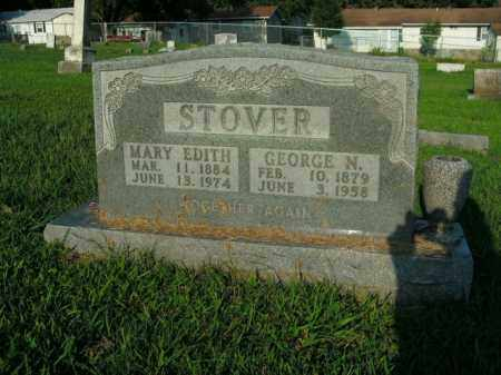 STOVER, GEORGE NEWTON - Boone County, Arkansas | GEORGE NEWTON STOVER - Arkansas Gravestone Photos