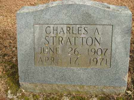 STRATTON, CHARLES A. - Boone County, Arkansas | CHARLES A. STRATTON - Arkansas Gravestone Photos