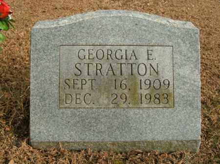 STRATTON, GEORGIA E. - Boone County, Arkansas | GEORGIA E. STRATTON - Arkansas Gravestone Photos