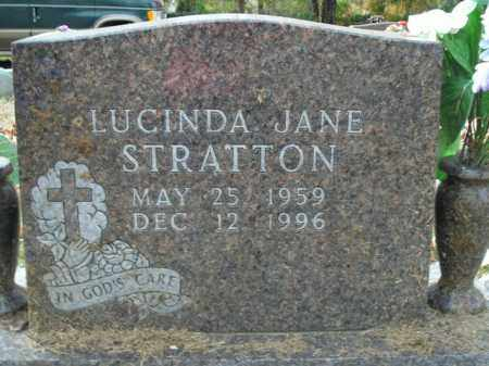 STRATTON, LUCINDA JANE - Boone County, Arkansas | LUCINDA JANE STRATTON - Arkansas Gravestone Photos