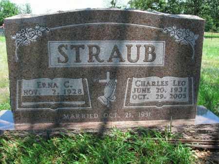 STRAUB, CHARLES LEO - Boone County, Arkansas | CHARLES LEO STRAUB - Arkansas Gravestone Photos