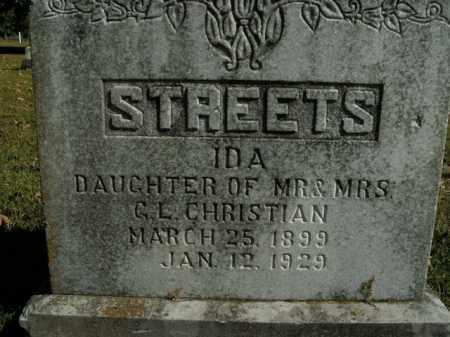 STREETS, IDA - Boone County, Arkansas | IDA STREETS - Arkansas Gravestone Photos