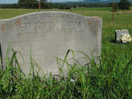 STRICKLEN, BESSIE - Boone County, Arkansas | BESSIE STRICKLEN - Arkansas Gravestone Photos