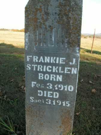 STRICKLEN, FRANKIE J. - Boone County, Arkansas | FRANKIE J. STRICKLEN - Arkansas Gravestone Photos