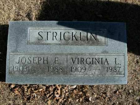 STRICKLIN, VIRGINIA L. - Boone County, Arkansas | VIRGINIA L. STRICKLIN - Arkansas Gravestone Photos