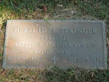STRINGER  (VETERAN WWII), HEAROLD L - Boone County, Arkansas | HEAROLD L STRINGER  (VETERAN WWII) - Arkansas Gravestone Photos