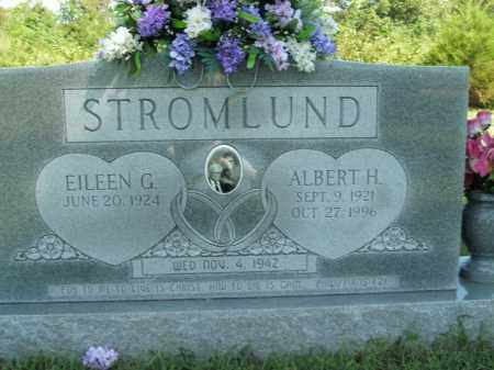 STROMLUND, ALBERT H. - Boone County, Arkansas | ALBERT H. STROMLUND - Arkansas Gravestone Photos