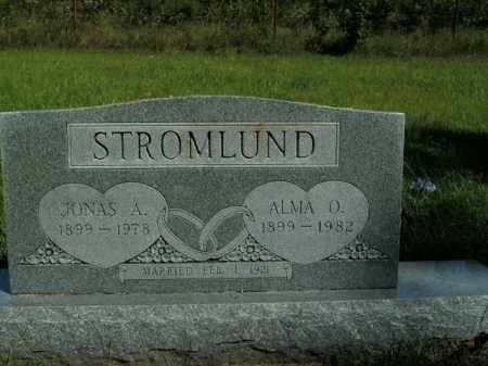 STROMLUND, ALMA O. - Boone County, Arkansas | ALMA O. STROMLUND - Arkansas Gravestone Photos