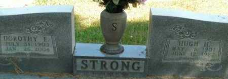 STRONG, HUGH H. - Boone County, Arkansas | HUGH H. STRONG - Arkansas Gravestone Photos