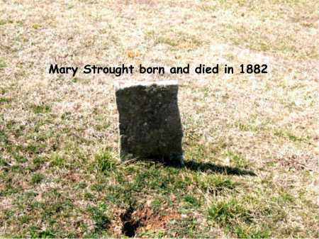 STROUGHT, MARY - Boone County, Arkansas | MARY STROUGHT - Arkansas Gravestone Photos