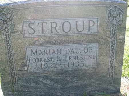 STROUP, MARIAN - Boone County, Arkansas | MARIAN STROUP - Arkansas Gravestone Photos