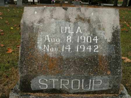 STROUP, ULA - Boone County, Arkansas | ULA STROUP - Arkansas Gravestone Photos