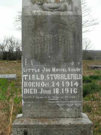 STUBBLEFIELD, JOE HOWEL - Boone County, Arkansas | JOE HOWEL STUBBLEFIELD - Arkansas Gravestone Photos