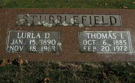STUBBLEFIELD, THOMAS IRA - Boone County, Arkansas | THOMAS IRA STUBBLEFIELD - Arkansas Gravestone Photos