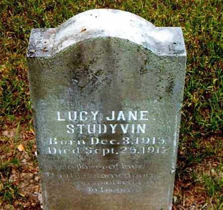 STUDYVIN, LUCY JANE - Boone County, Arkansas | LUCY JANE STUDYVIN - Arkansas Gravestone Photos