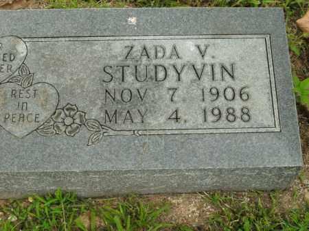 STUDYVIN, ZADA V. - Boone County, Arkansas | ZADA V. STUDYVIN - Arkansas Gravestone Photos