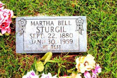 STURGIL, MARTHA BELL - Boone County, Arkansas   MARTHA BELL STURGIL - Arkansas Gravestone Photos