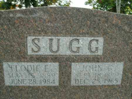 SUGG, FLODIE E. - Boone County, Arkansas | FLODIE E. SUGG - Arkansas Gravestone Photos