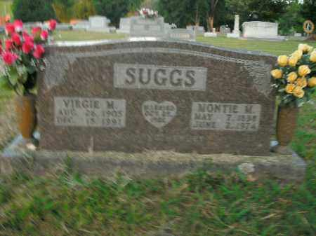 SUGGS, VIRGIE M. - Boone County, Arkansas | VIRGIE M. SUGGS - Arkansas Gravestone Photos