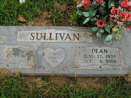 SULLIVAN, DEAN - Boone County, Arkansas | DEAN SULLIVAN - Arkansas Gravestone Photos
