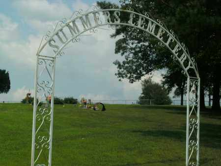 *SUMMERS CEMETERY GATE,  - Boone County, Arkansas |  *SUMMERS CEMETERY GATE - Arkansas Gravestone Photos