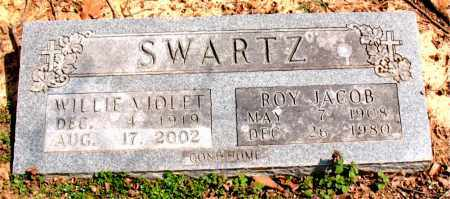 SENTER SWARTZ, WILLIE VIOLET - Boone County, Arkansas | WILLIE VIOLET SENTER SWARTZ - Arkansas Gravestone Photos